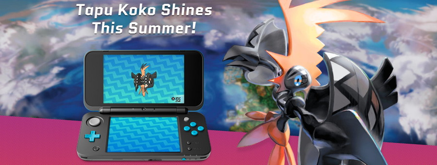 Get a Shiny Tapu Koko from Nintendo Network Until August 14