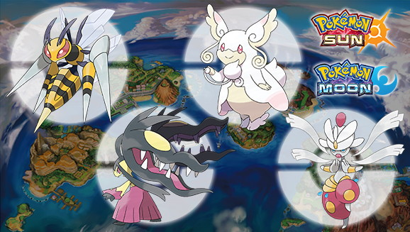 Four New Mega Stones are Available in Pokemon Sun and Moon