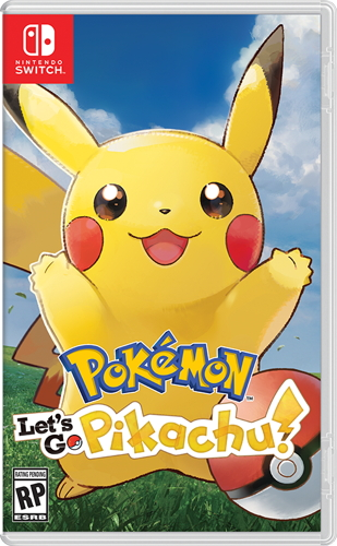 Let's Go Pikachu Box