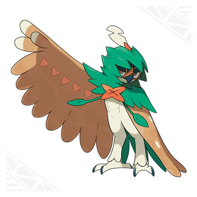 Pokemon Sun Moon Decidueye