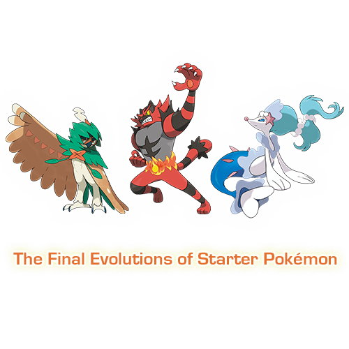 Fantastic Sun & Moon Trailer Shows Off Final Evolutions of Starters
