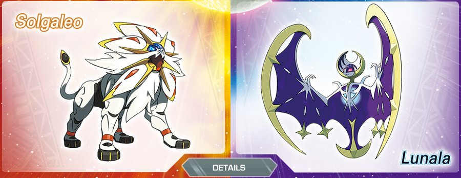 Solgaleo and Lunala Revealed as Legendary Pokemon in Sun and Moon