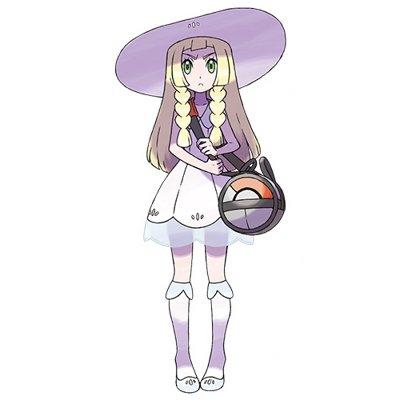 Pokemon Sun and Moon Lillie