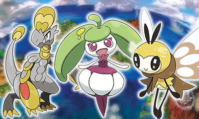 A New Batch of Pokemon, Alolan Forms, and Trainers Shown for Sun & Moon