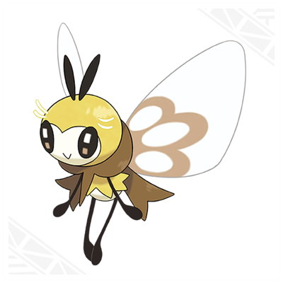 Pokemon Sun Moon Ribombee