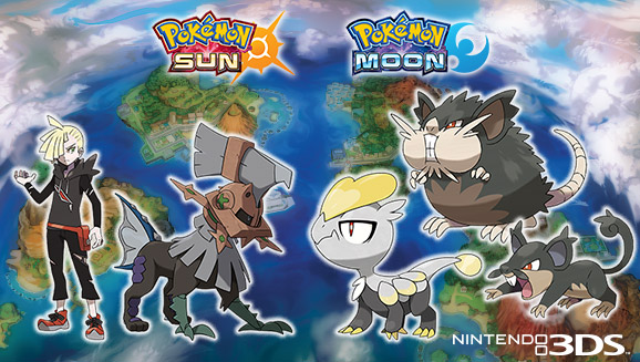 Sun and Moon Trailer Reveals Type Null, Jangmo-o, and Ultra Beasts