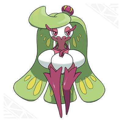 Pokemon Sun Moon Tsareena