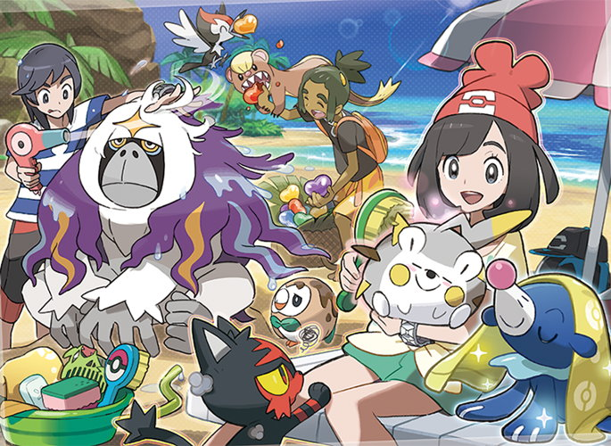 Version Exclusive Pokemon and New Z-Moves Revealed for Sun and Moon