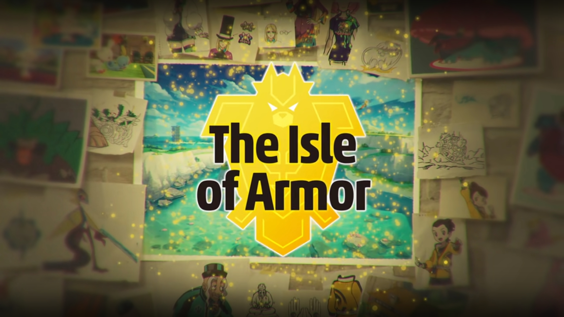 Isle of Armor and Crown Tundra Announced as Sword and Shield DLC