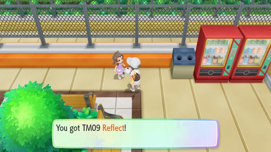 Let's Go Pikachu Eevee TMS