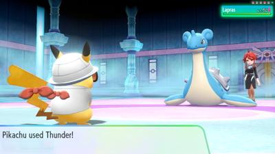 Let's Go Pikachu Eevee Elite Four Lorelei