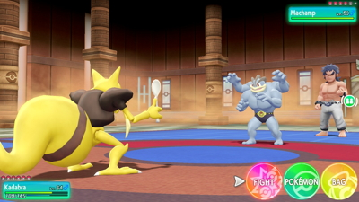 Let's Go Pikachu Eevee Elite Four Bruno