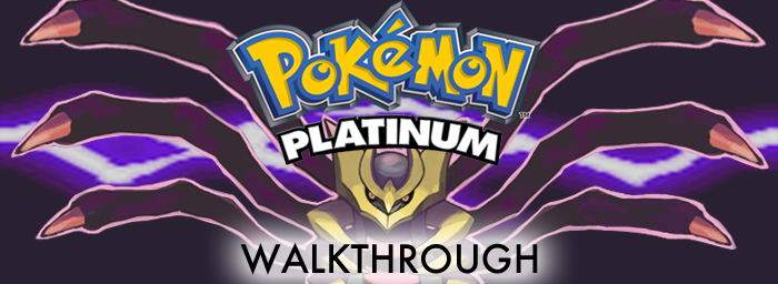 Pokemon Platinum Walkthrough