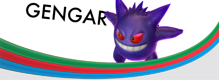 Pokken Tournament Gengar
