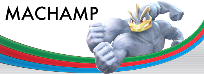 Pokken Tournament Machamp