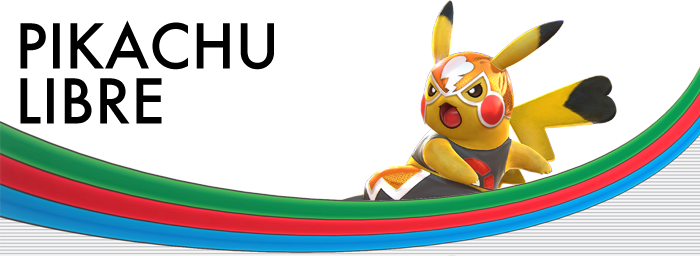 Pokken Tournament Pikachu Libre