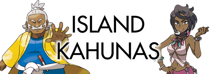Pokemon Sun and Moon Island Kahunas