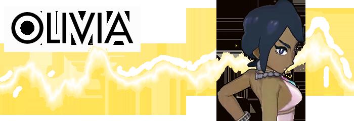 Olivia Pokemon Sun Moon