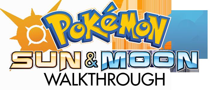 Pokemon Sun and Moon Walkthrough