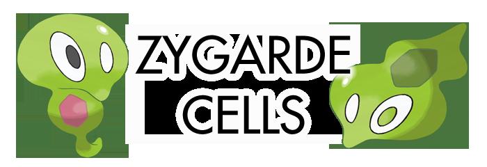 Sun Moon Zygarde Cells