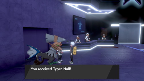 Pokemon Sword Shield Type Null