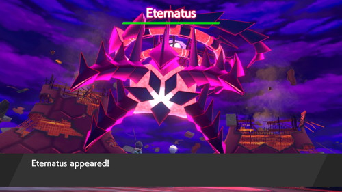 Pokemon Sword Shield Eternatus
