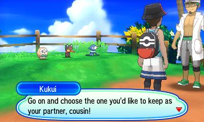Chapter 1: Melemele Island - Pokemon Ultra Sun Ultra Moon