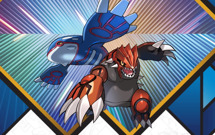 2018 Legendary Pokemon Distribution Kyogre Groudon