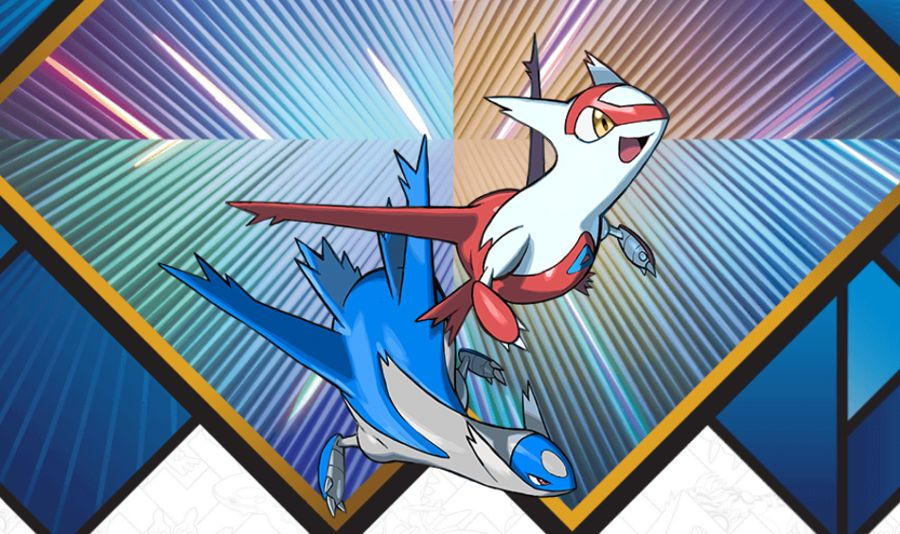 2018 Legendary Pokemon Distribution Latios Latias