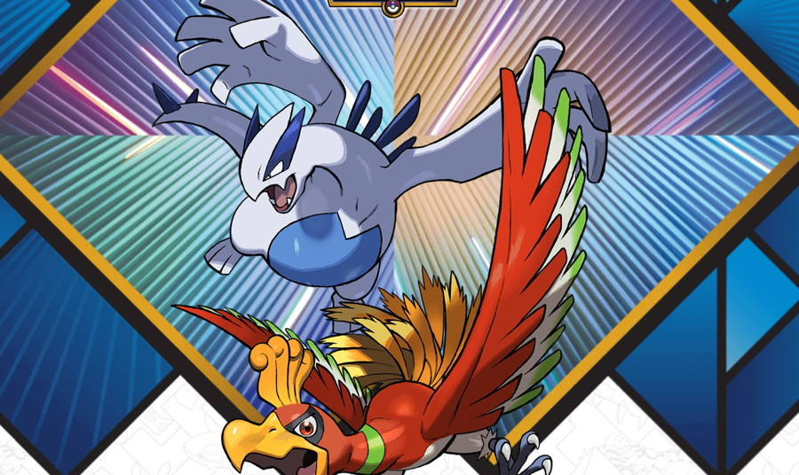 2018 Legendary Pokemon Distribution Lugia Ho-oh