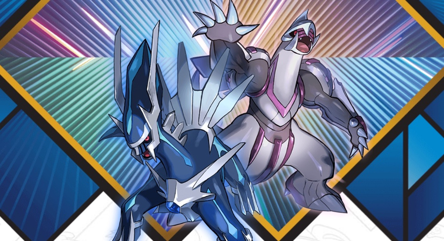 2018 Legendary Pokemon Distribution Palkia Dialga