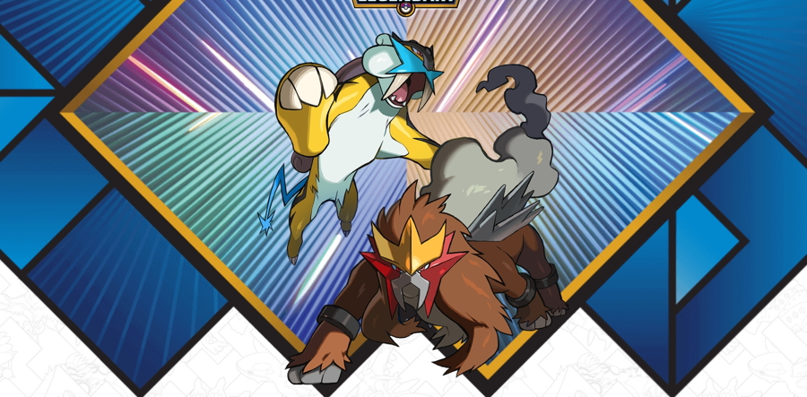 2018 Legendary Pokemon Distribution Raikou Entei