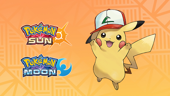 Ash's Pikachu Event Sun Moon