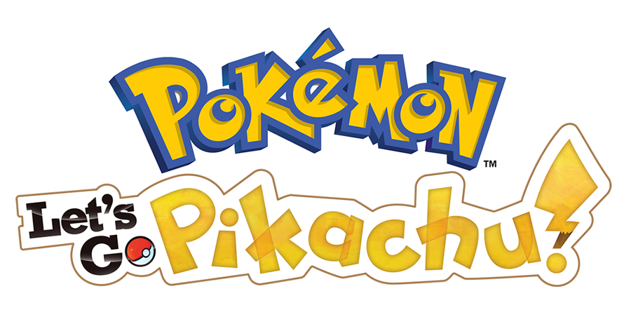 Pokemon Let's Go Pikachu Logo