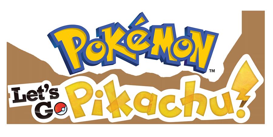 Let's Go Pikachu Logo