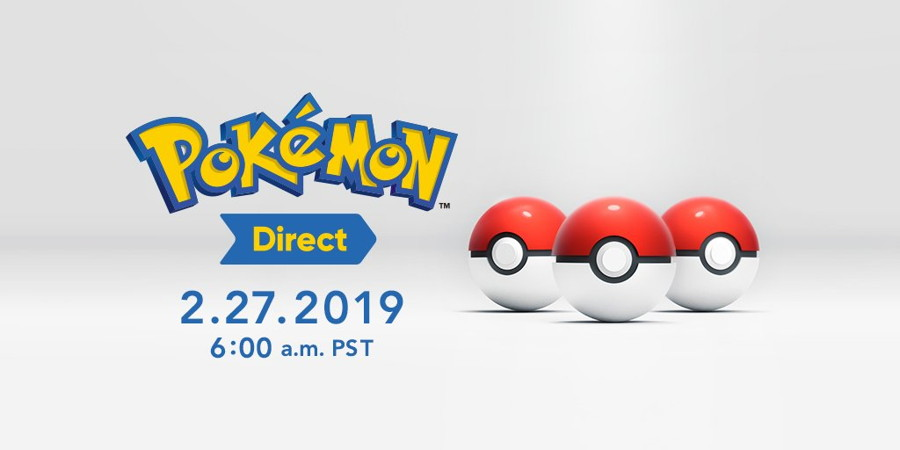 Pokemon Direct Announced for Tomorrow, February 27