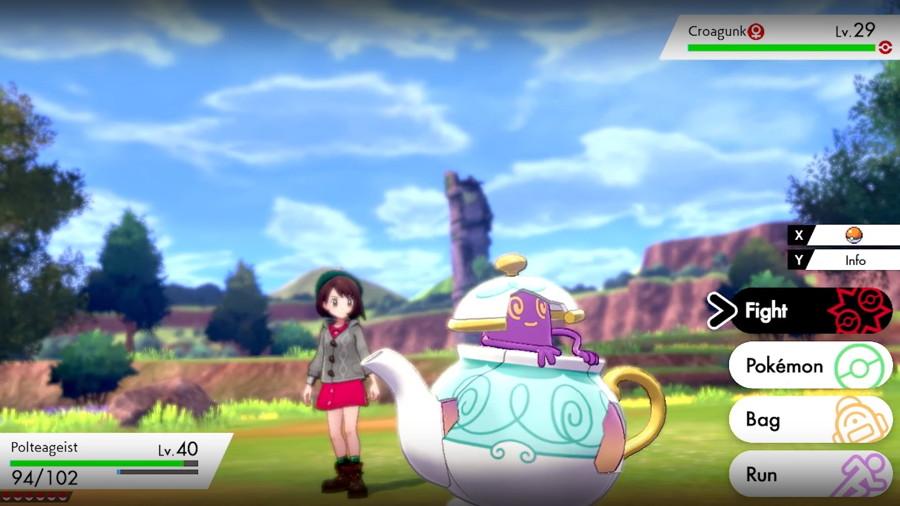 Pokemon Sword Shield Polteageist