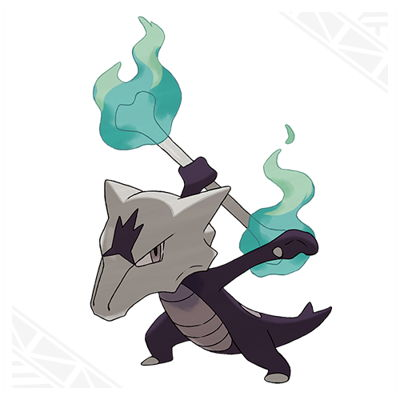 Pokemon Sun and Moon Alolan Marowak