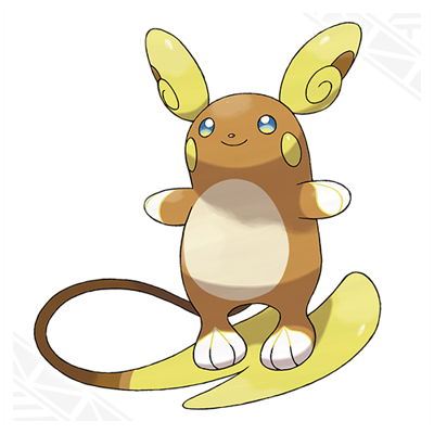 Pokemon Sun and Moon Alolan Raichu