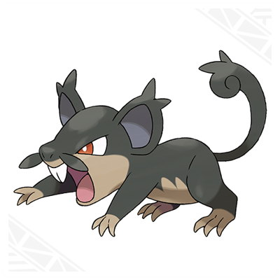 Pokemon Sun and Moon Alolan Rattata