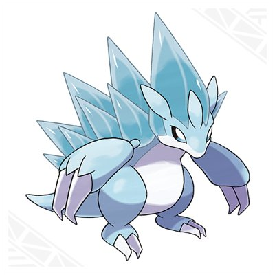 Pokemon Sun and Moon Alolan Sandslash