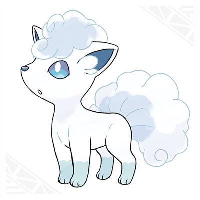 Pokemon Sun and Moon Alolan Vulpix