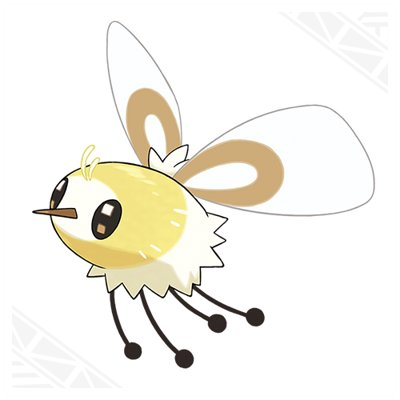 Pokemon Sun Moon Cutiefly