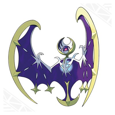 Pokemon Sun and Moon Lunala