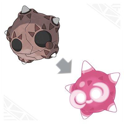 Pokemon Sun and Moon Minior