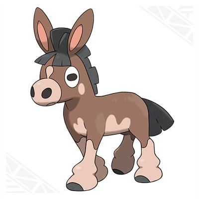 Pokemon Sun and Moon Mudbray
