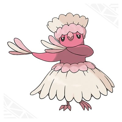 Pokemon Sun and Moon Oricorio Pa'u Style