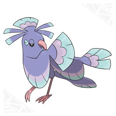 Pokemon Sun and Moon Oricorio Sensu Style
