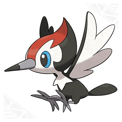 Pokemon Sun and Moon Pikipek