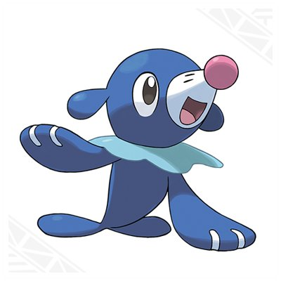 Pokemon Sun and Moon Popplio